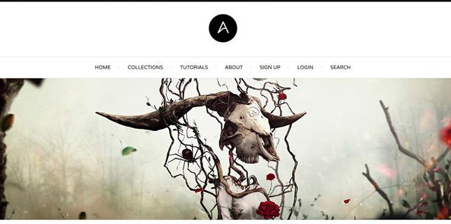 Feature auf Abduzeedo.com